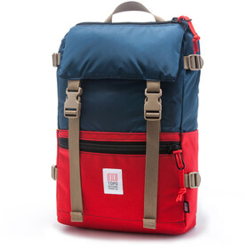 Topo Designs Rover Pack Reppu, navy/red